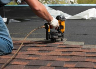 Lichen Removal With Professional Roof Cleaning Procedure