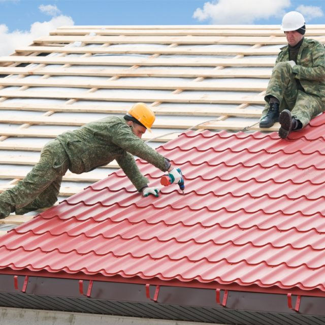 Roof Painting Includes Water Proofing Facility With Aesthetic Value Protection