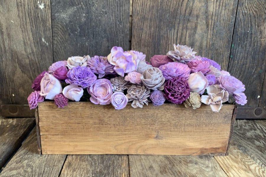 Tapioca wood-natural source of sola wood flowers