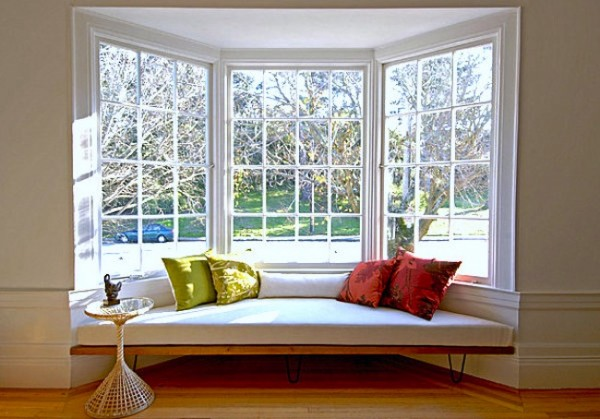 Enjoy Beautiful Panoramas of Your Own Home with Bay Windows
