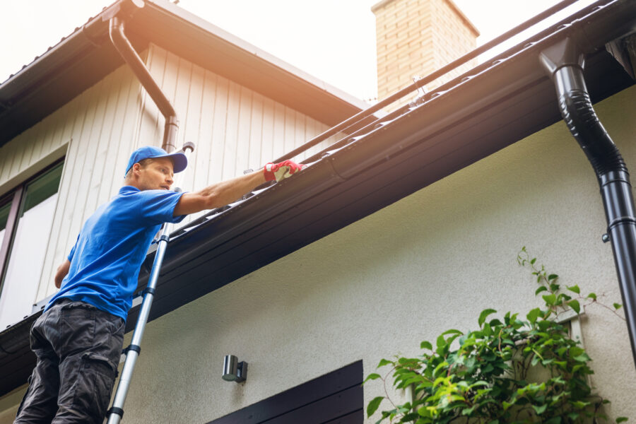 What are some tips and tricks to clean your roof?