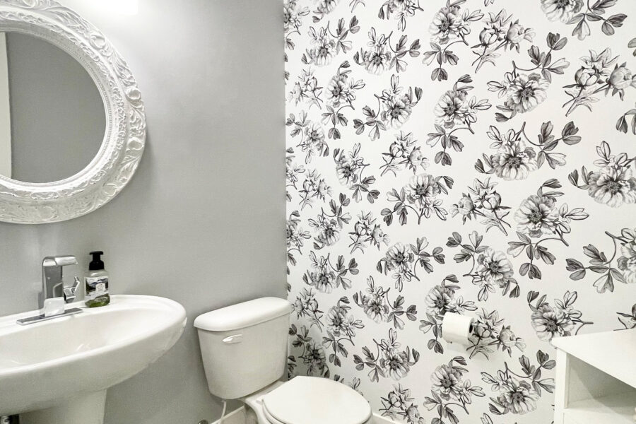 See why you need to add peel and stick wallpaper to your DIY projects this year